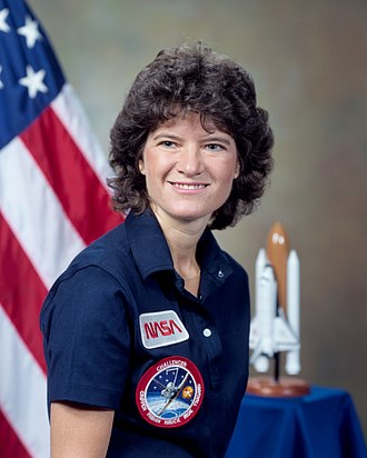 Sally Ride's NASA picture